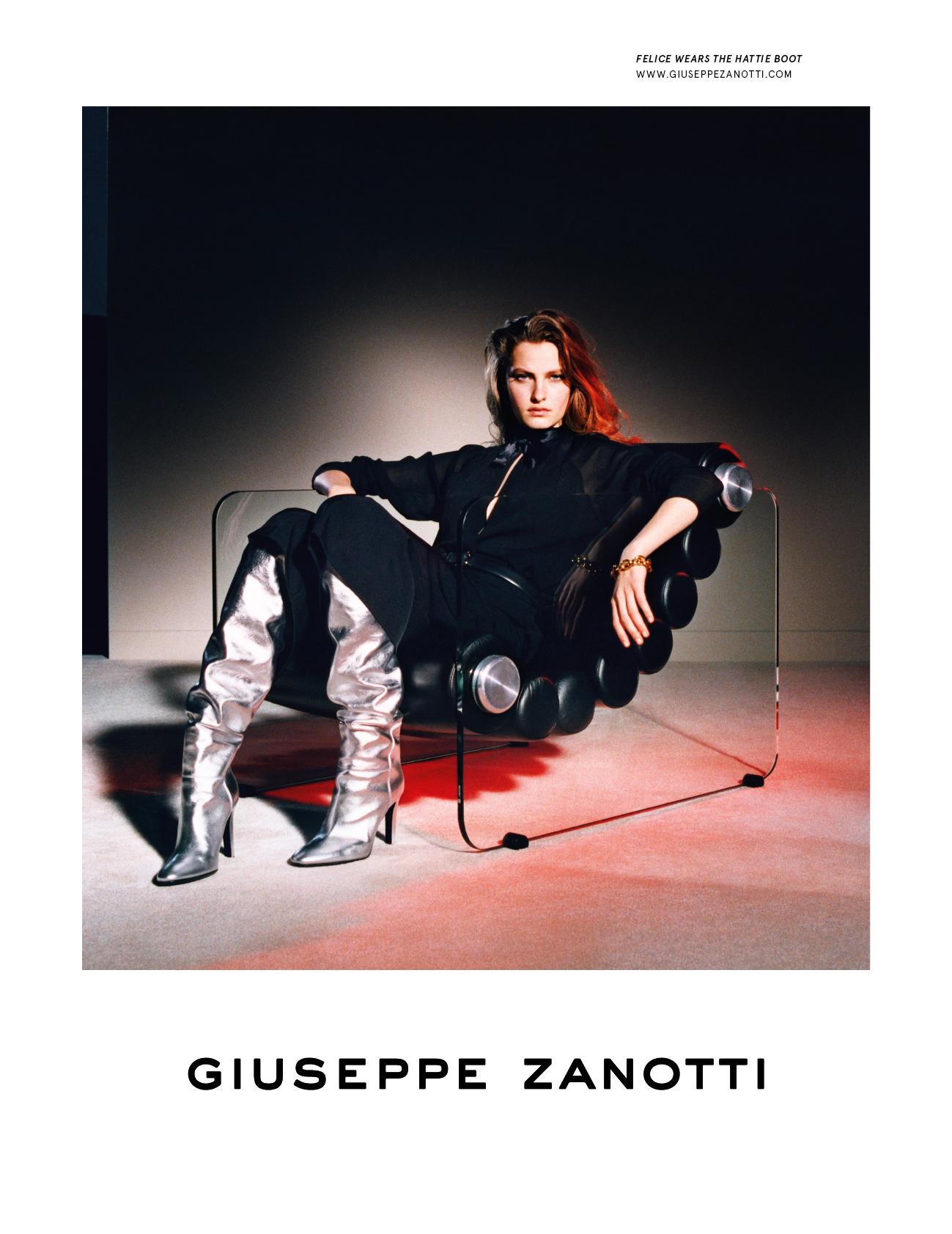 Shot by Suffo Moncloa for Giuseppe Zanotti