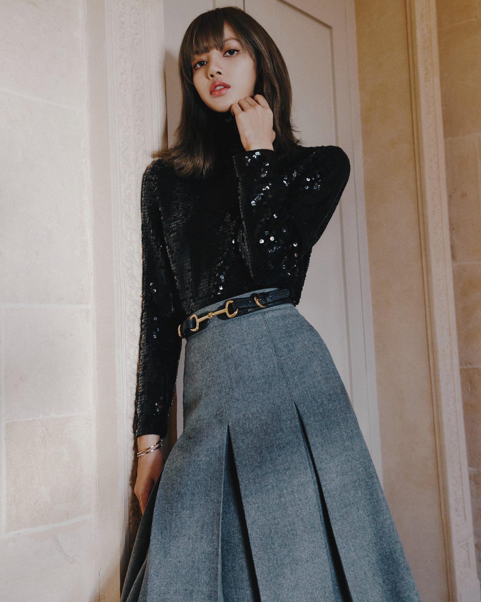 V Exclusive Blackpink S Lisa Manoban Models Celine V Magazine